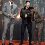 The Rock stared alongside Nick Jonas in the 2017 remake of Jumanji. (Photo: WENN)