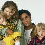 "Jesse and Becky are easily the hottest couple in ""Full House,"" and now that I am an adult I would probably go back in time to be in a three-way relationship with them—which probably wouldn't happen because my hair is not as cool as theirs. (Photo: Release)"