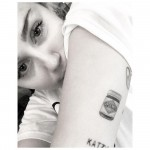 When Miley got a tattoo of Liam's favorite snack, Vegemite. Now, that's love. (Photo: Instagram)