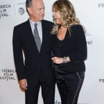 He absolutely adores his wife Rita Wilson. After 30 years of marriage, he still stops to take photos of her on the red carpet! Talk about relationship goals! (Photo: WENN)