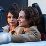 "Chalamet stars in the soon-to-be released Woody Allen movie, ""A Rainy Day In New York,"" alongside Selena Gomez. (Photo: WENN)"
