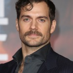 "Henry Cavill channeling his inner Clark Kent with a loose curl at the world premiere of ""Justice League."" (Photo: WENN)"