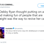 I don't thing Debby's career revival is going as planned… (Photo: Twitter)