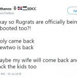 Maybe my dad will come back with mil from Walmart. (Photo: Twitter)