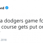 Sounds like someone got to… first base. (Photo: Twitter)