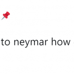 Neymar is a mood now. (Photo: Twitter)