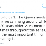 The crown is the most important thing, not the person wearing it. (Photo: Twitter)