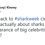 Take us back to Shark Week 2003. (Photo: Twitter)