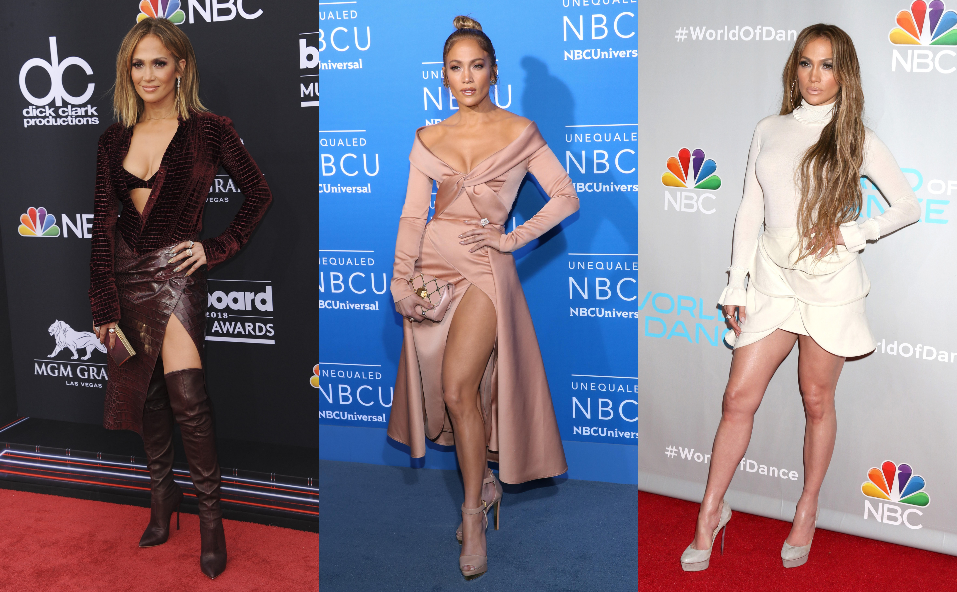 While her face and body have flawlessly stand the test of time, Jennifer Lopez' ever-sexy wardrobe is always in tune with the latest and most provocative fashion trends. (Photo: WENN)