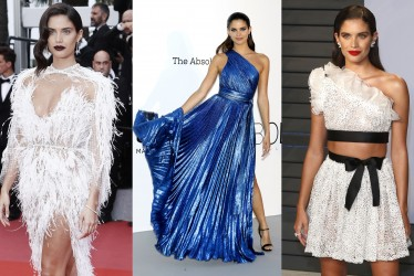 10 Best Red Carpet Looks By Portuguese Beauty Sara Sampaio