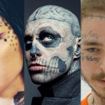 In honor of Zombie Boy's life and legacy, here are 10 celebrities, who have managed to make face tattoos cool despite society's outdated beauty standards. (Photos: Instagram)