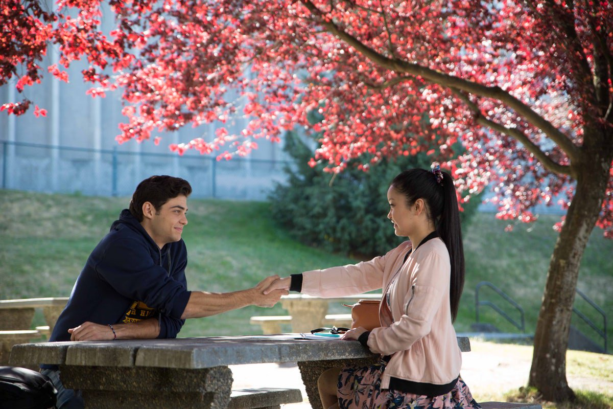 "People are relating a little too much to Netflix's new rom-com, ""To All The Boy I've Loved Before."" (Photo: Release)"