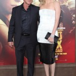 Sean Penn and Charlize Theron dated from 2013 to 2015. The actress is nearly two inches taller than her then beau! (Photo: WENN)