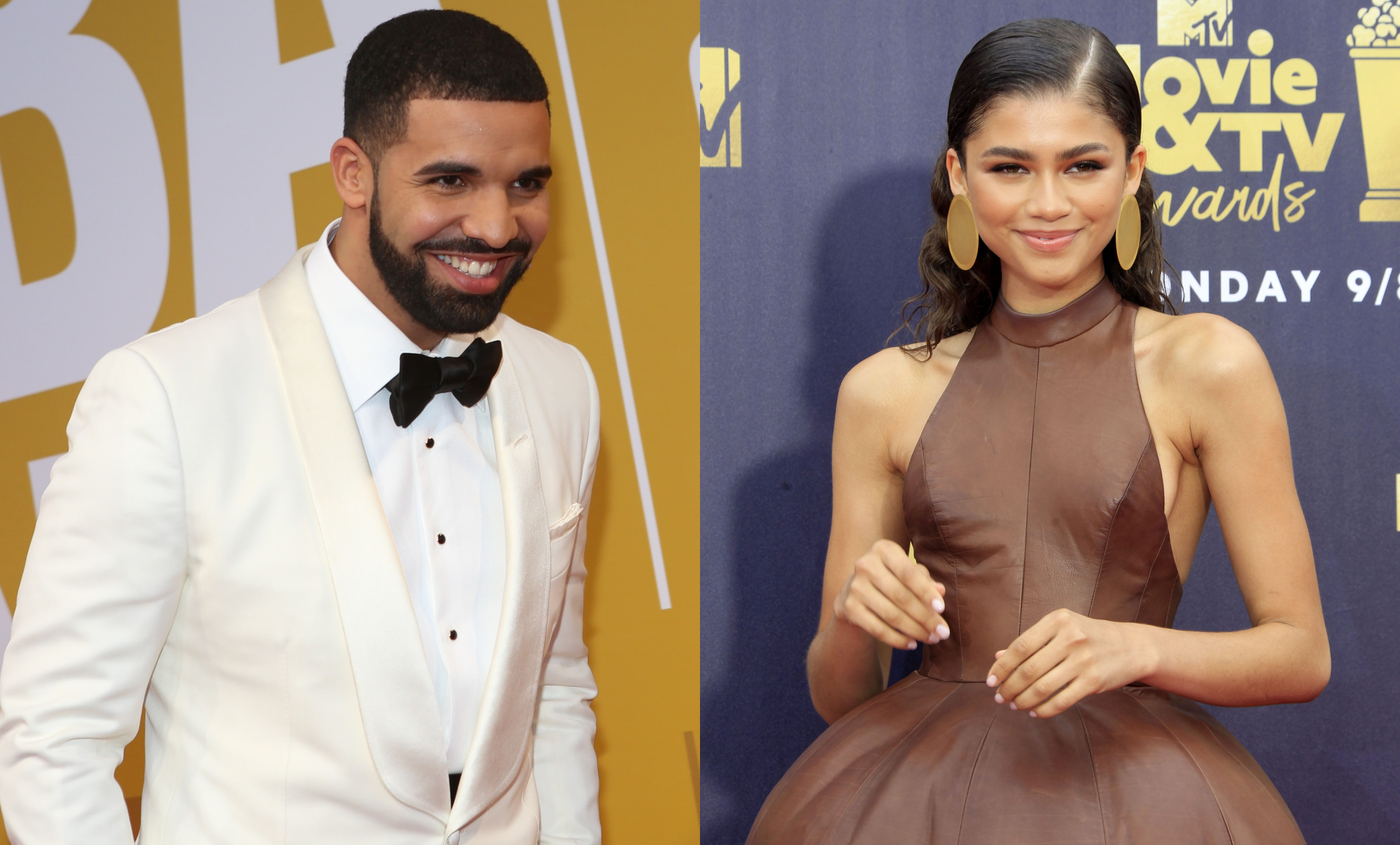 Drake and Zendaya are teaming up for a new HBO series. (Photo: WENN)