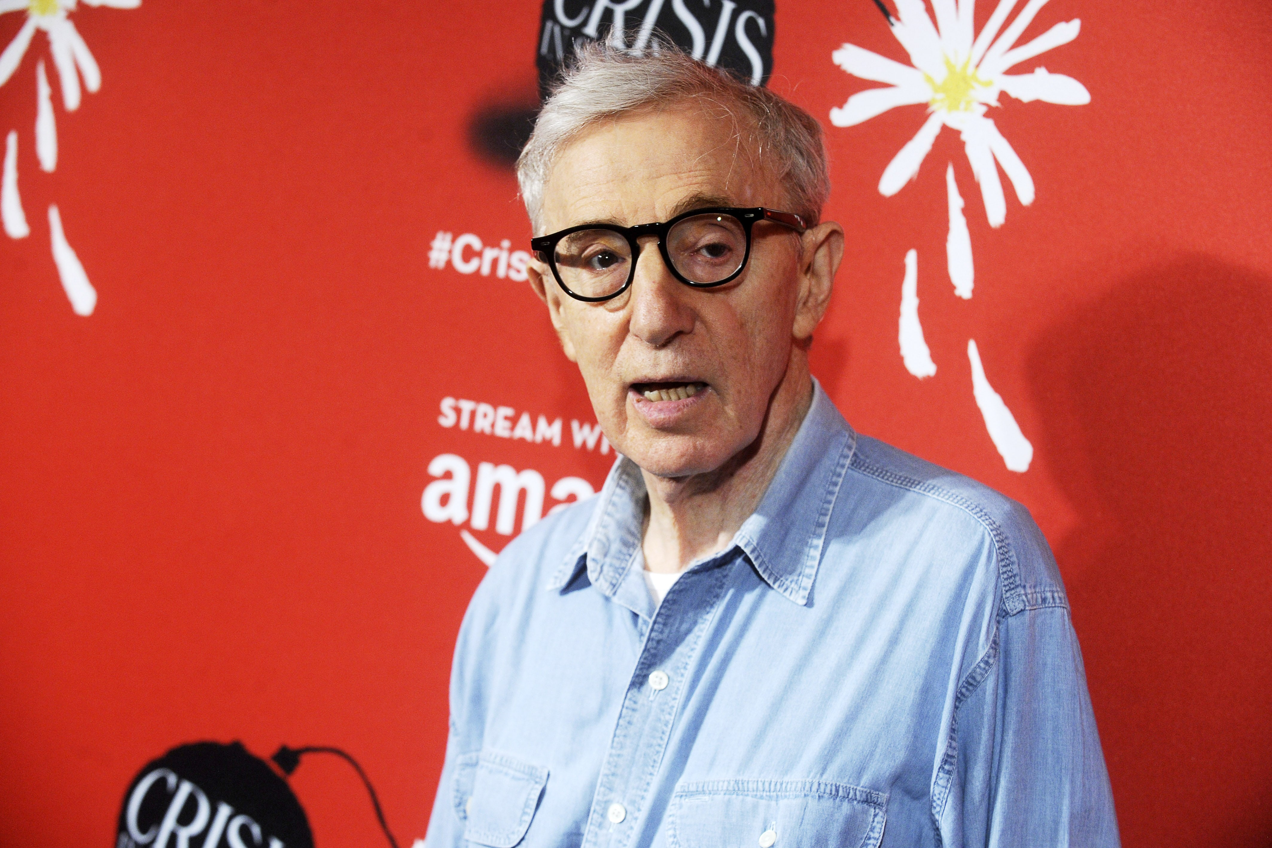 Woody Allen's Rainy Day may never see the light of day. (Photo: WENN)