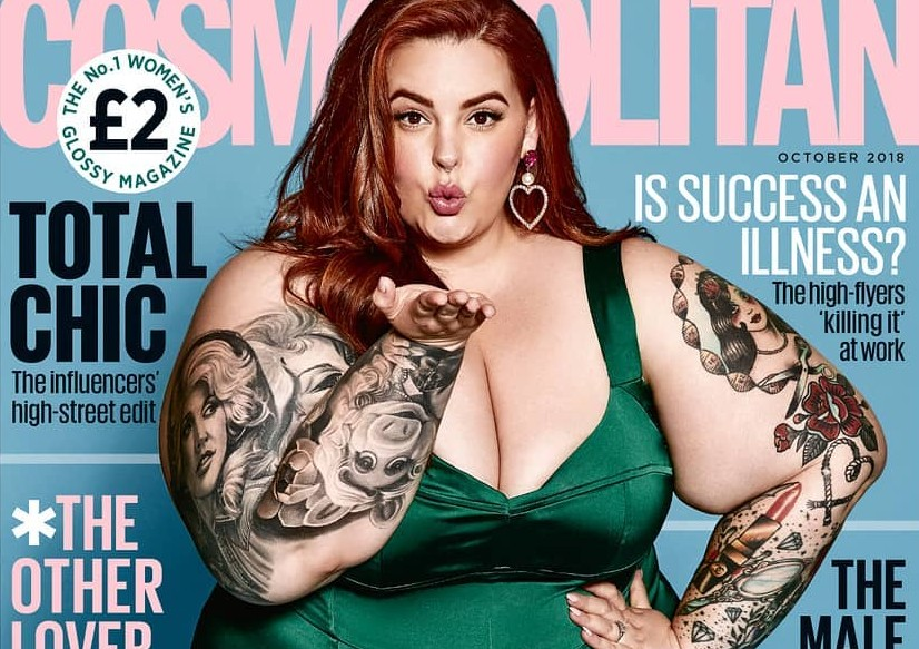 There's much more to Tess than her weight and body. here are 10 things your probably didn't know about latest Cosmo girl, Tess Holliday! (Photo: Instagram)