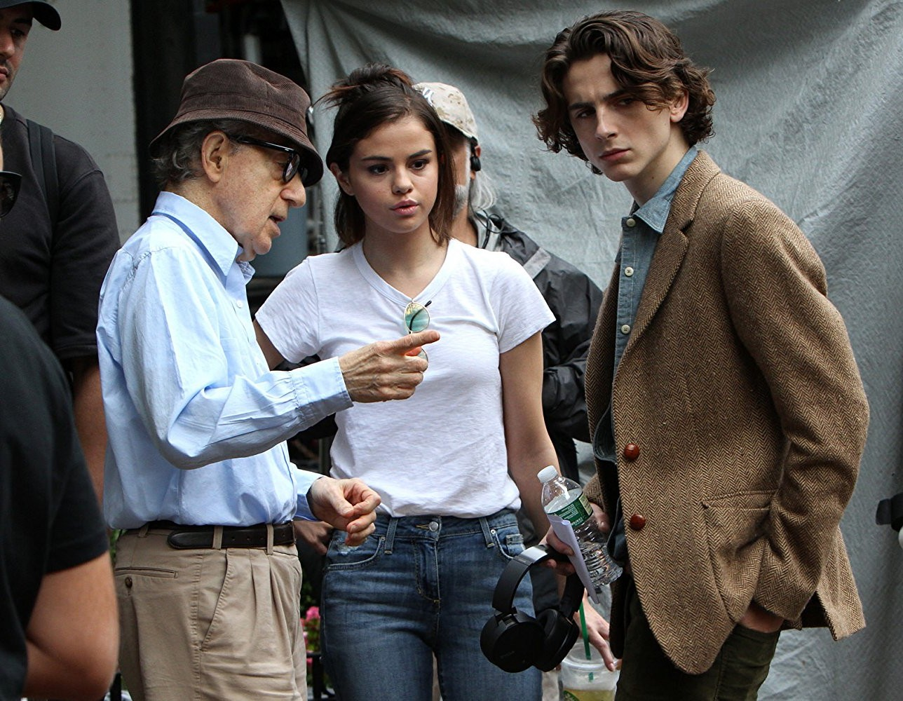 "Amazon Studios faced a tough challenge releasing ""A Rainy Day in New York"" given that Woody Allen's name has been all over headlines since Dylan Farrow, his adopted daughter, brought old sexual allegations against the director back into the spotlight. (Photo: Release)"