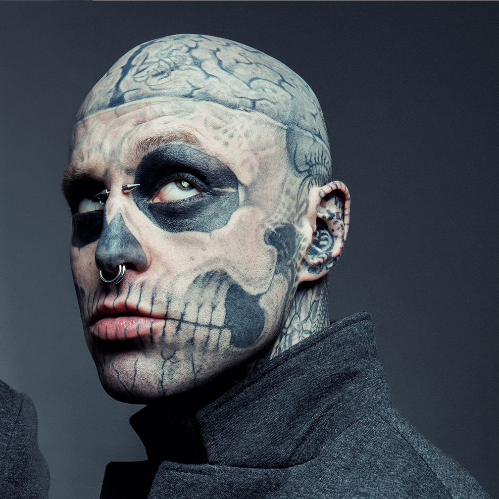 Zombie Boy's And 10 Other Celebrities With Face Tattoos ...