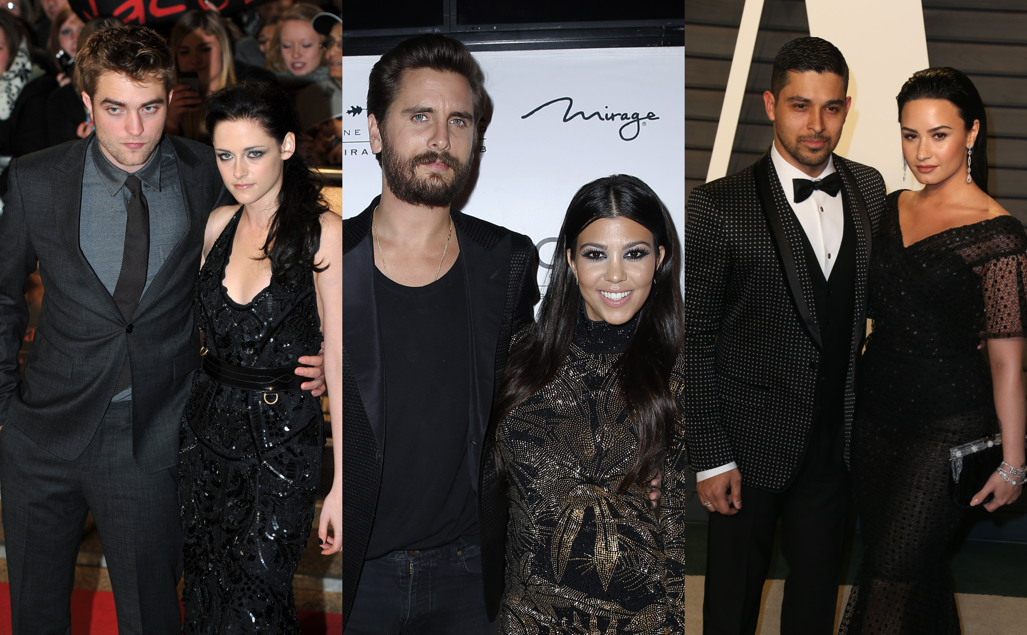 We refuse to believe love is over for this famous pairs. (Photo: WENN)