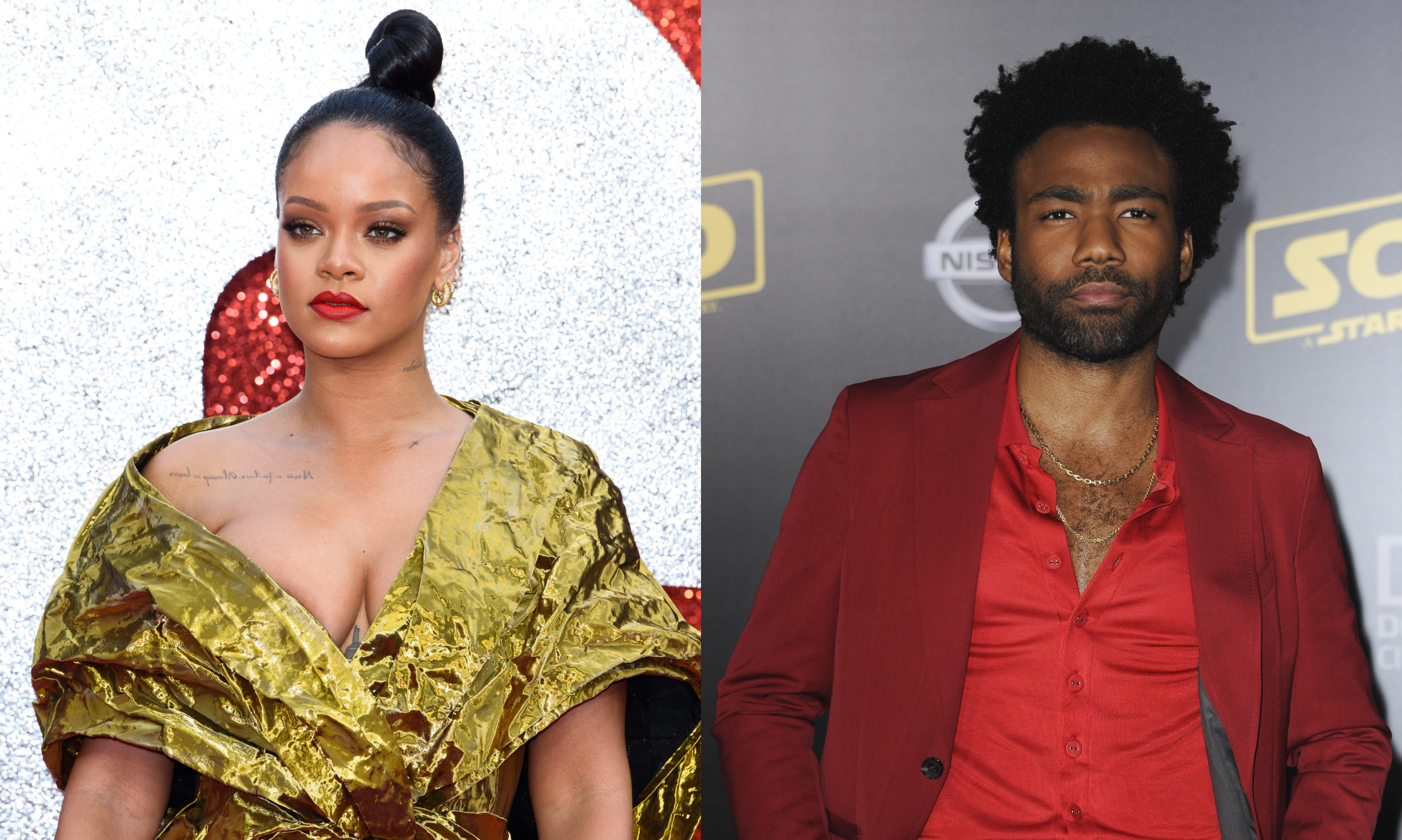 What are Rihanna and Donald Glover up to? (Photo: WENN)