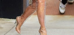10 Celebrities Who Clearly Love See-Through Shoes