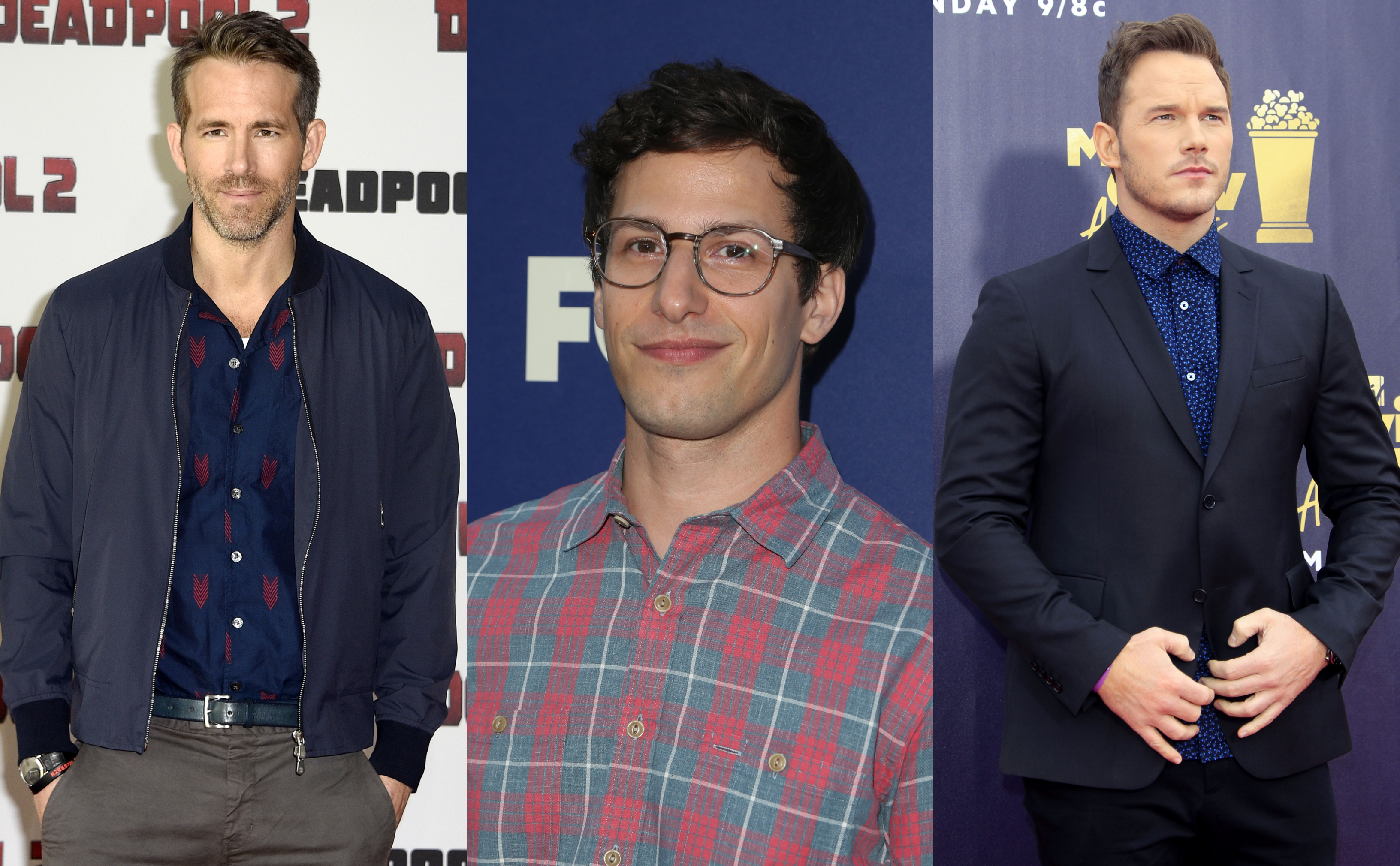 What's better than someone you find totally hot AND completely hilarious? (Photos: WENN)