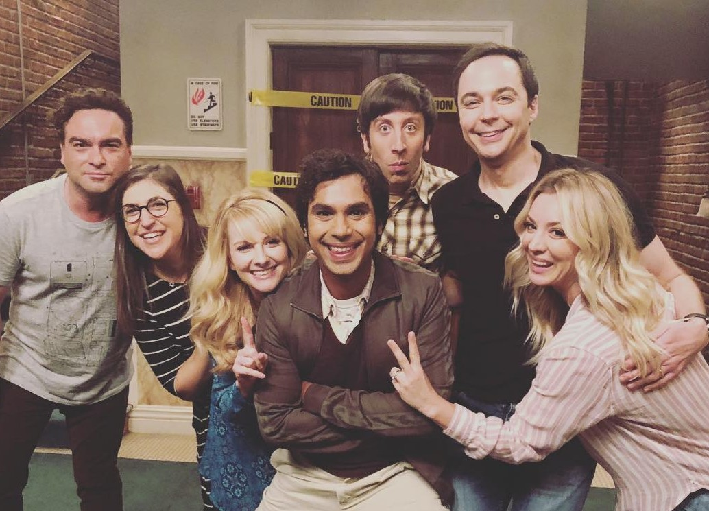 The amount of people who are celebrating The Big Bang Theory's ending is, well, banging. (Photo: Instagram)