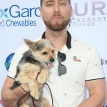 Former NSYNC star Lance Bass brought his adorable puppy to Lisa Vanderpump and the Vanderpump Dog Foundation's 34 Annual World Dog Day. (Photo: WENN)