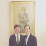Yep—you got it right. As his name suggests, Joshua Kushner is Jared Kushner's young (and liberal!) brother, which makes him Ivanka Trump's brother-in-law. (Photo: Instagram)