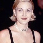 Back in 90's, Drew Barrymore sort of pioneered the trend of shaving off your brows and penciling them back in. Not a cute look if you ask us! (Photo: WENN)
