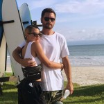 That time Sofia and Scott jetted off to Mykonos for a summer getaway. (Photo: Instagram)