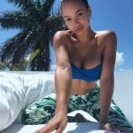 24-year-old Jordan Ozuna was born in Maryland to a military family that moved around different locations, thus growing up in very exotic places, like Guam and Hawaii. She is now living her best life in Los Angeles. (Photo: Instagram)