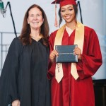 Bella B Harris only recently finished from high school as she showed on a series of pictures posted to her Instagram of her graduation ceremony. (Photo: Instagram)