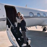 Scott and Sofia did some post-Christmas jet-setting to a snowy location. (Photo: Instagram)