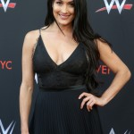 "Besides being probably the biggest WEE female star alongside her twin sister Brie, and a two-time Divas Champion, Nikki Bella is the star of her own reality TV show ""Total Divas"" which has been running for the last 5 years! (Photo: WENN)"