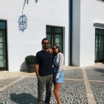 Sofia and Scott made their relationship Instagram official during a romantic vacation in Puerto Vallarta cuddling up to her gun in front of some surfboards. (Photo: Instagram)