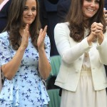 The Middleton sisters—While Kate was already well known by her wedding day, Pippa's scene-stealing Alexander McQueen gown made her a household name! (Photo: WENN)