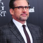 "As if being the hilarious Michael Scott, playing the voice for Gru in Despicable Me, or starring in the comedy jewel 40-Year-Old Virgin, Steve Carrell is now rocking a head full of sexy grey hairs, earning him the title of ""silver fox."" (Photo: WENN)"