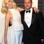Lady Gaga has moved on her manager Christian Carino, but nothing can't beat that epic heart-shaped engagement ring Taylor Kinney put on her finger. (Photo: WENN)