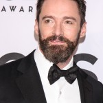 Hugh Jackman still looked dapper with a full beard at the red carpet of the 2014 Tony Awards. (Photo: WENN)