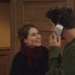 "Emily on ""Friends""—It's never a good sign when your girlfriend makes you decide between her and your friends. Sure, Ross did say ""Rachel"" at their wedding, but still…. (Photo: Release)"