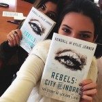 "She's the author or a sci-fi novel. At age 17, Kylie co-wrote a novel title ""Rebels: City of Indra: The Story of Lex and Livia"" with her sister Kendal Jenner. (Photo: Instagram)"