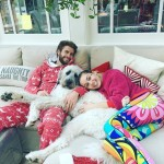 Since then, the couple has been living together in Malibu with their furry children. (Photo: Instagram)