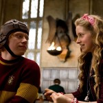 "Lavender Brown on ""Harry Potter""—Giggly, prone to jealousy, and an outrageous gossip. She lived life like she was on love potion! She didn't love Ron—she was obsessed with him! (Photo: Release)"