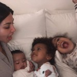 Kim Kardashian is mother to North, Saint, and Chicago. (Photo: Instagram)