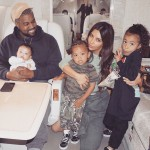 In an interview with ELLE earlier this year, Kim said four kids would be her max because she believes she should focus on her relationship with Kanye. (Photo: Instagram)