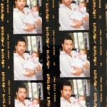 A throwback picture of Lionel Richie holding her then new-born daughter. (Photo: Instagram)