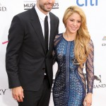 "Despite splitting rumors, Shakira and Gerard are still going strong. The singer has been with Piqué since 2010 and shares two sons with him. Last year she said: ""for now, there are no plans for marriage."" (Photo: WENN)"