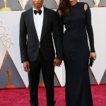 Pharrell Williams is shorter than most men in Hollywood as is, but it' even more noticeable when he stands next to his significantly taller wife Helen Lasichanh. (Photo: WENN)