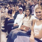 Of course, her relationship with Josh has drawn Karlie close to Ivanka and Jared. They were even spotted hanging out at the US Open in 2016. (Photo: WENN)